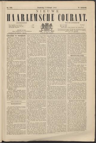 Nieuwe Haarlemsche Courant 1884-02-07