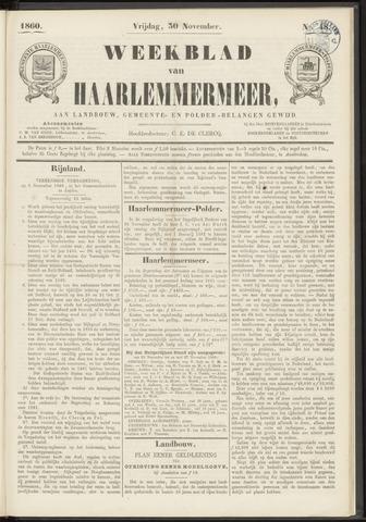 Weekblad van Haarlemmermeer 1860-11-30