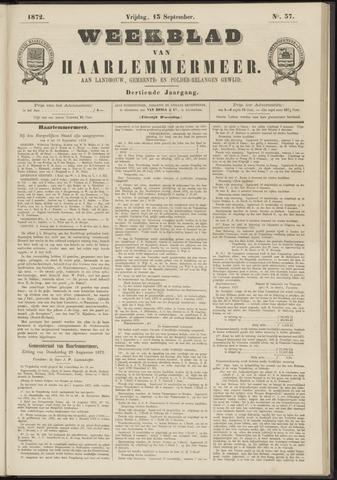 Weekblad van Haarlemmermeer 1872-09-13
