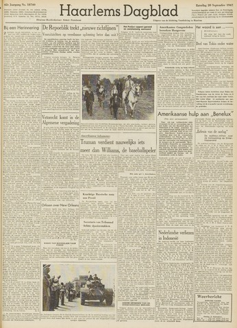 Haarlem's Dagblad 1947-09-20