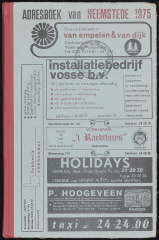 Adresboeken Heemstede 1975-01-01