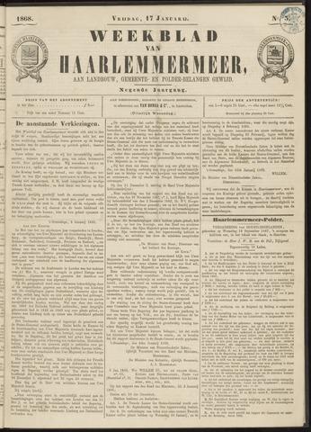 Weekblad van Haarlemmermeer 1868-01-17
