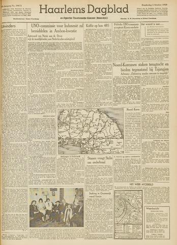 Haarlem's Dagblad 1950-10-05