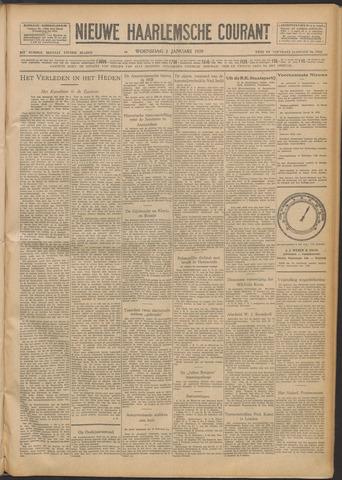 Nieuwe Haarlemsche Courant 1929