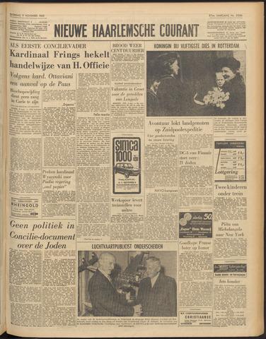 Nieuwe Haarlemsche Courant 1963-11-09