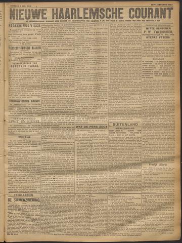 Nieuwe Haarlemsche Courant 1918-07-09