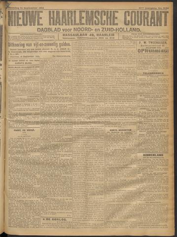 Nieuwe Haarlemsche Courant 1916-09-18