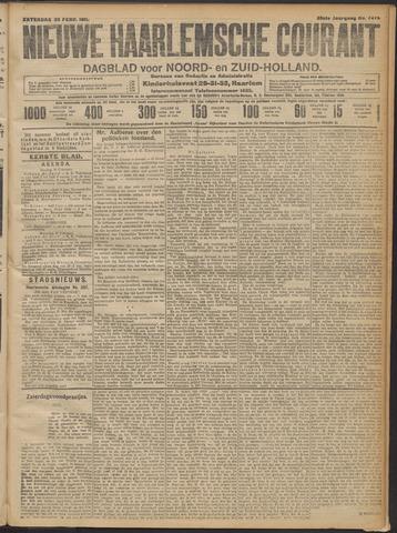 Nieuwe Haarlemsche Courant 1911-02-25