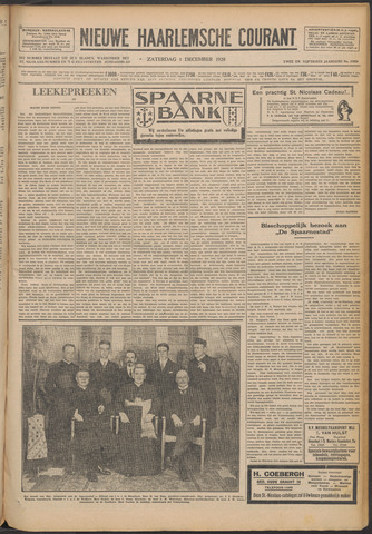 Nieuwe Haarlemsche Courant 1928-12-01