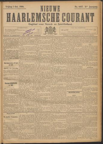 Nieuwe Haarlemsche Courant 1906-10-05