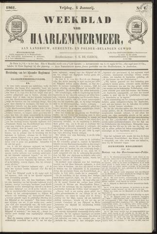 Weekblad van Haarlemmermeer 1861-01-04