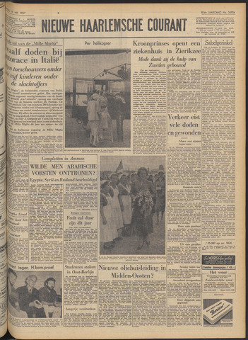 Nieuwe Haarlemsche Courant 1957-05-13