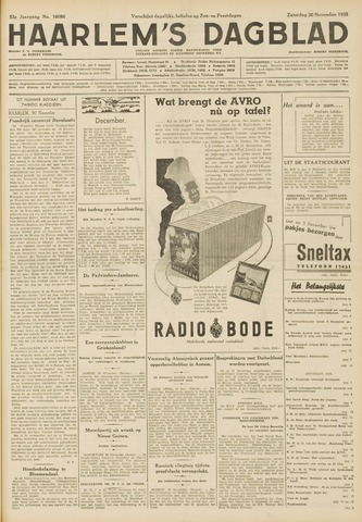 Haarlem's Dagblad 1935-11-30