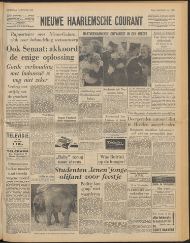 Nieuwe Haarlemsche Courant 1962-09-13