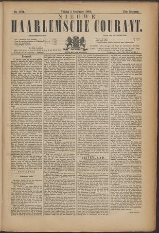 Nieuwe Haarlemsche Courant 1890-09-05