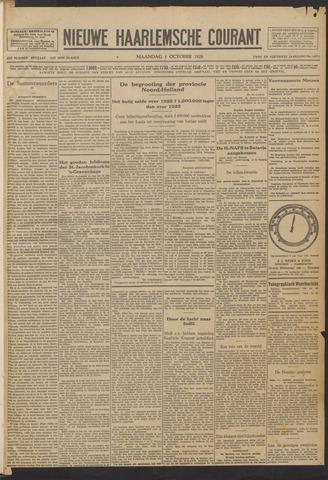 Nieuwe Haarlemsche Courant 1928-10-01