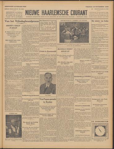 Nieuwe Haarlemsche Courant 1933-11-10