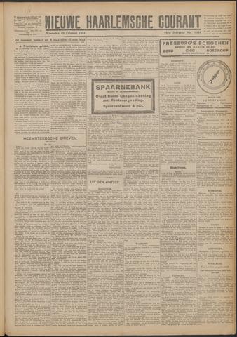Nieuwe Haarlemsche Courant 1924-02-20
