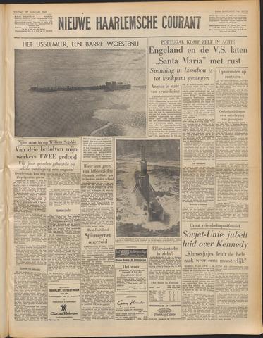Nieuwe Haarlemsche Courant 1961-01-27