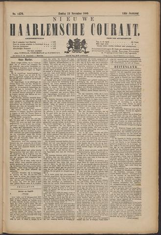 Nieuwe Haarlemsche Courant 1889-11-24
