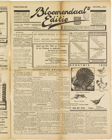 Bloemendaal's Editie 1928-12-22