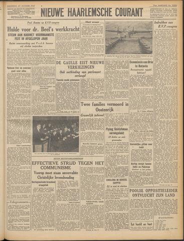 Nieuwe Haarlemsche Courant 1947-10-27