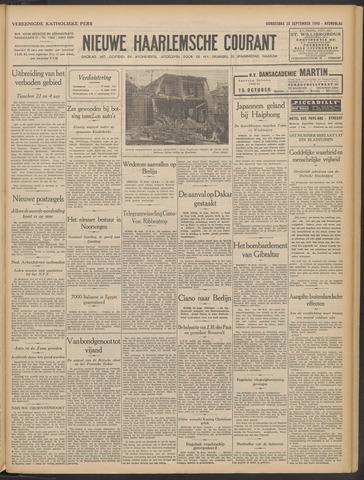 Nieuwe Haarlemsche Courant 1940-09-26