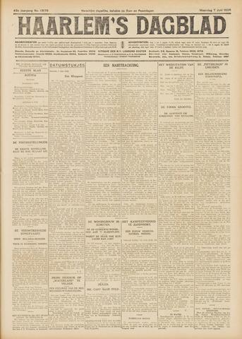 Haarlem's Dagblad 1926-06-07