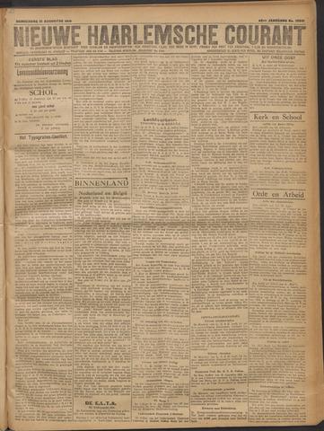 Nieuwe Haarlemsche Courant 1919-08-21