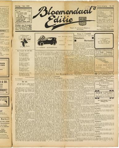 Bloemendaal's Editie 1928-09-01