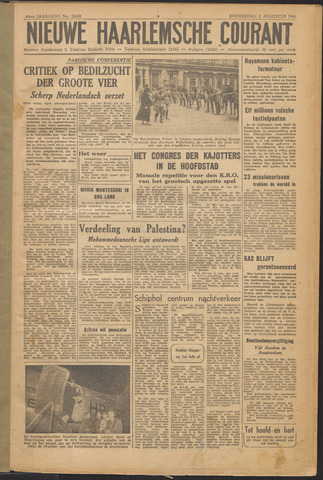 Nieuwe Haarlemsche Courant 1946-08-01
