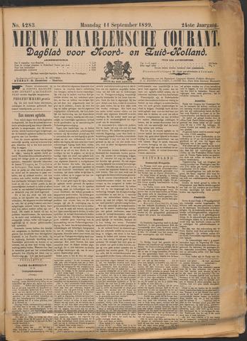 Nieuwe Haarlemsche Courant 1899-09-11