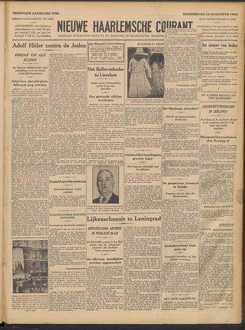 Nieuwe Haarlemsche Courant 1933-08-10