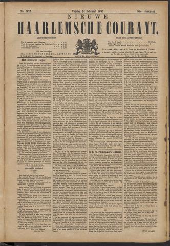 Nieuwe Haarlemsche Courant 1893-02-24