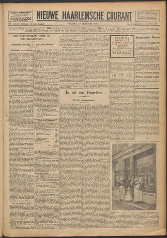 Nieuwe Haarlemsche Courant 1928-01-13