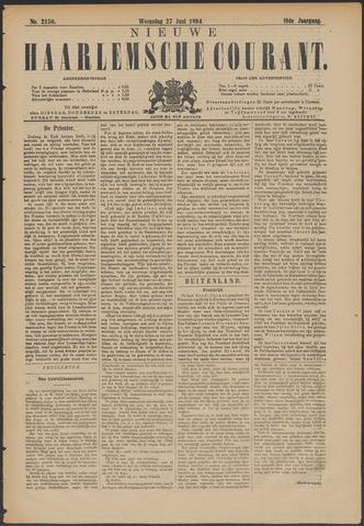 Nieuwe Haarlemsche Courant 1894-06-27