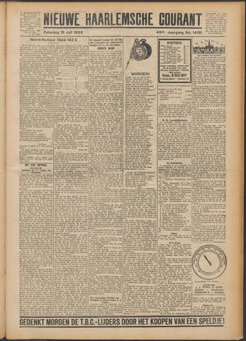 Nieuwe Haarlemsche Courant 1922-07-15