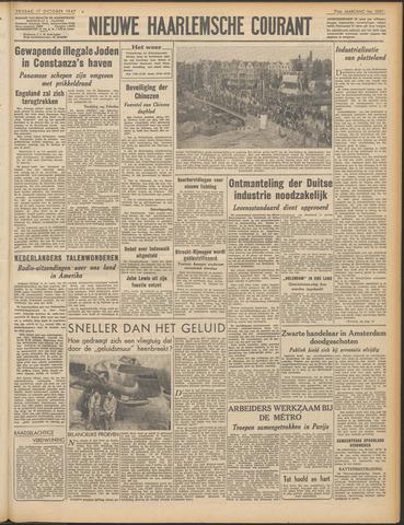 Nieuwe Haarlemsche Courant 1947-10-17