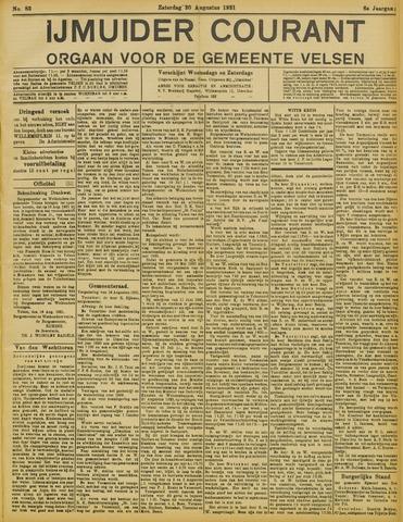 IJmuider Courant 1921-08-20