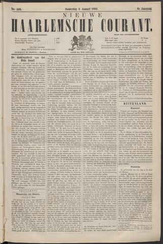 Nieuwe Haarlemsche Courant 1881-01-06