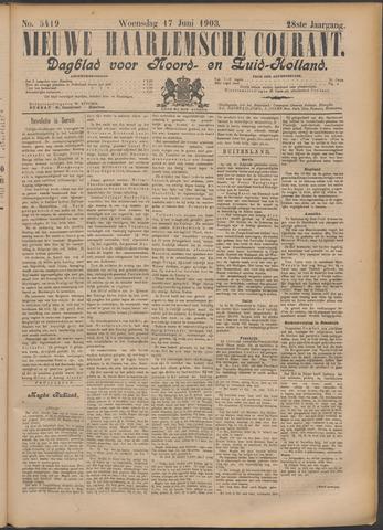 Nieuwe Haarlemsche Courant 1903-06-17