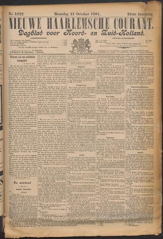 Nieuwe Haarlemsche Courant 1901-10-21