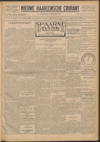 Nieuwe Haarlemsche Courant 1929-01-26