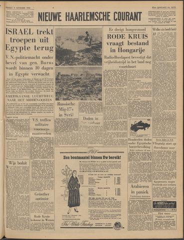 Nieuwe Haarlemsche Courant 1956-11-09