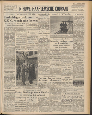 Nieuwe Haarlemsche Courant 1955-02-25