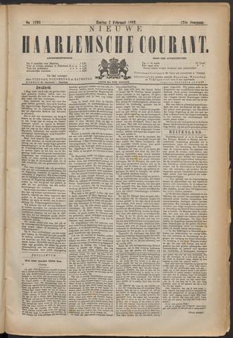 Nieuwe Haarlemsche Courant 1892-02-07