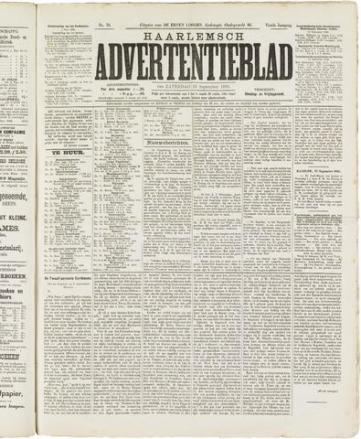 Haarlemsch Advertentieblad 1882-09-23