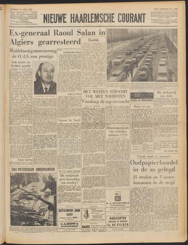Nieuwe Haarlemsche Courant 1962-04-21