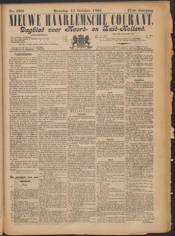 Nieuwe Haarlemsche Courant 1902-10-13