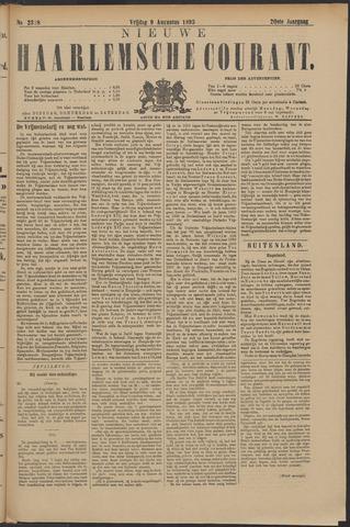 Nieuwe Haarlemsche Courant 1895-08-09
